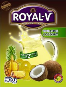 Royal-V Instant Powder Drink 50gr for 2 Liters