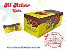 Al Azhar Cocoa Sauce Filled Marble Cake 60 gr.