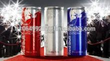 Authentic R.E.D. Bull Energy Drink Red / Blue / Silver