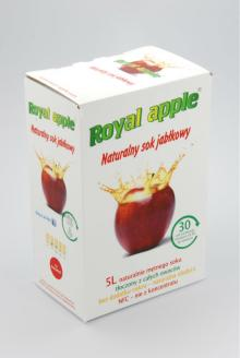 Naturally cloudy juice, pressed from fresh apples