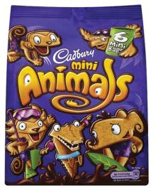 cadbury mini animals