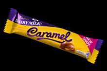 cadbury diary milk caramel bar