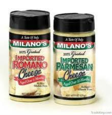 Milano Brand  Grated   Parmesan   Cheese  12/8 oz per case