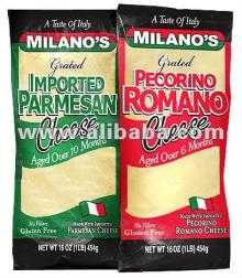 Milano s Imported Grated Parmesan Cheese 1LB Bag