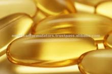 Natural Vitamin E (E-200 d Alpha Tocopherol Acetate) Softgel Capsules