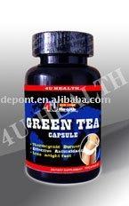 Green Tea extract capsule health food