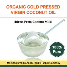 Organic 100% cold pressed Virgin Coconut Oil