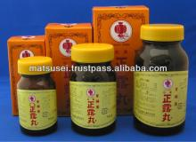 Seirogan containing  wood  creosote has effects on diarrhea.