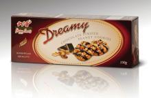 Chocolate striped peanut cookies 150g