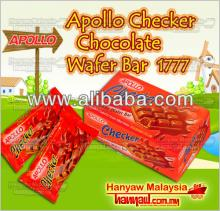 Apollo Checker Chocolate Wafer Bar 1777