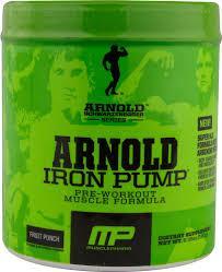 Arnold Schwarzenegger Iron Pump
