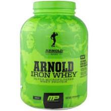 Arnold Schwarzenegger  Iron  Whey