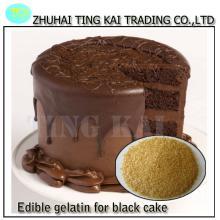 pig  skin  edible   gelatin  for dark cake