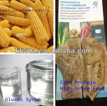 50Ton yellow corn starch corn fructose syrup processing machine&use yellow corn to produce liquid gl