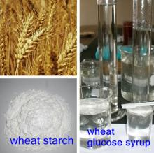 liquid glucose syrup product line& use wheat directly