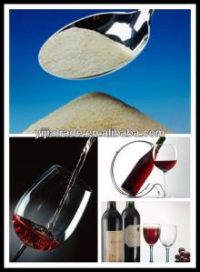 Edible   Halal   Gelatin  in Red Wine