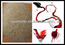 Edible Food Grade Gelatin in Red Wine