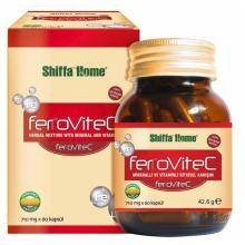 FERROVITEC Vitamin C Capsule Natural Herbal Vital Health Food Supplement