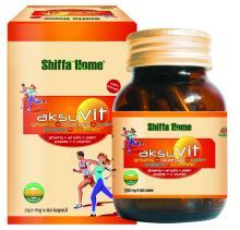 Vitamin Capsule Natural Herbal Vital Health Food Supplement