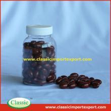 Natural Beta-Carotene + Vitamin E softgel private label in bottles/blister