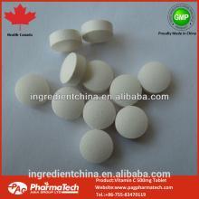 Health Canada GMP vitamin C 500mg Chewable tablets