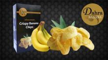 Crispy Healthy Banana Homemade Chips,100 g