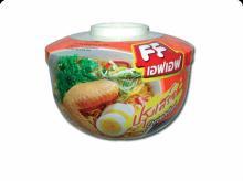 Thai Halal Instant Bowl Noodle,FF Oriental flavor