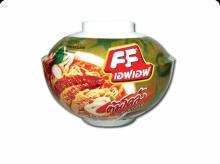 Thai Halal Instant Bowl Noodle,FF Tomklong flavor