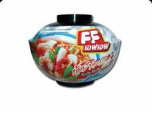 Thai Halal Instant Bowl Noodle,FF Tomyum Seafood flavor
