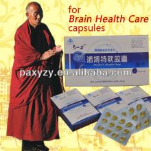 Traditional Tibetan Medicine and Health care products for Brain health -- 100% herbal, China GMP man