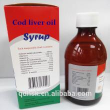 100% finest pure omega-3 cod liver oil 150ml with competitive price