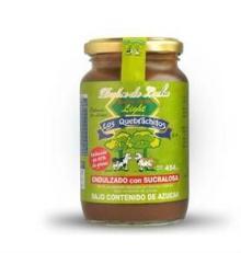 Dulce  de  Leche  / Milk Caramel for Diabetic People Jar Glass 454 Gr.