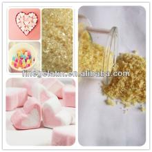 halal bovine skin jelly gelatin as ingredients for marshmallow