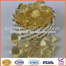 Oval Anti-aging Natural Vitamin E softgels Manufacturer
