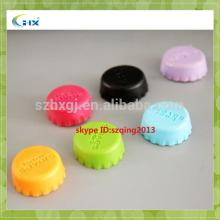 Recyclable silicone bottle caps/beer bottle caps