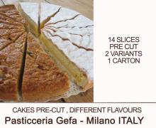 pre-cut frozen cakes