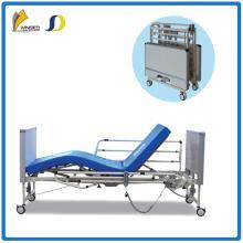 Multifunction foldable electric nursing bed