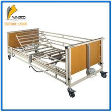 Folding home usage multi-functions electric nursing bed