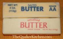 Unsalted   Sweet   Cream   Butter   82 %