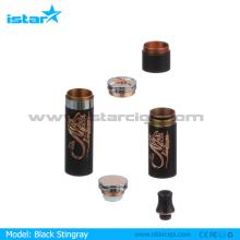2014 high  quality   match  with 18650,18350 and 26650 battery stingray vaporizer king mod