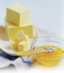 Butter unsalted, 250 g. made in GERMANY
