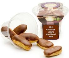 Mini Chocolate Eclairs (retail 8 pack)