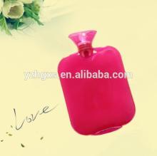 colorful transparent PVC Hot water bottle