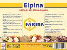 Elpina - sponge mix