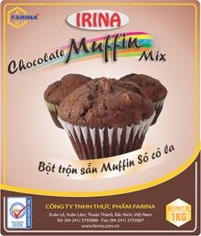 Irina - chocolate muffin mix