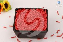 Edible cake sprinkles decoration of Jimmies/Vermicelli