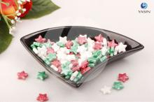 Cake decoration Colorful Star Sprinkles for Christmas