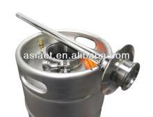 european standard stainless steel beer kegs  used  50l
