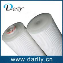 PP pleated high flow filter cartridge for beer filtration