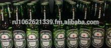 Green Bottles Pack Cans Beer ---Heinekens------